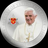 Benedikt XVI. Silbermünze