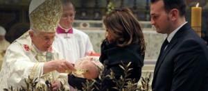 Benedikt XVI. - Tauffeier in der Sixtinischen Kapelle
