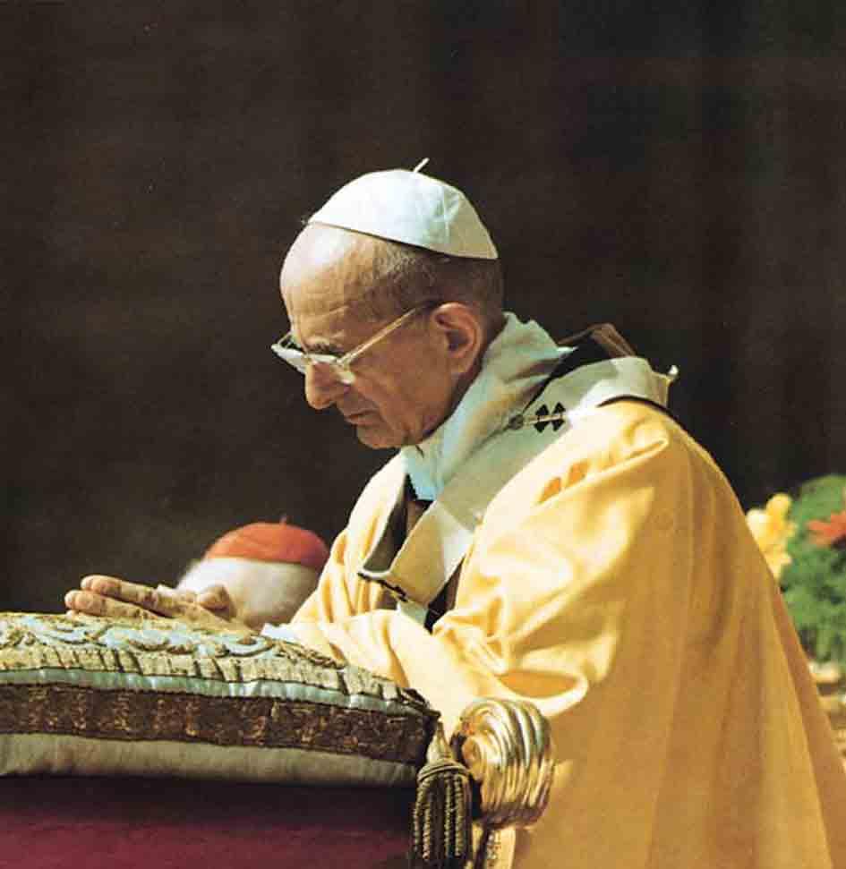 Kardinal Marx W 252 Rdigt Papst Paul Vi Poschenker