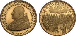 Joh XXIII Münze