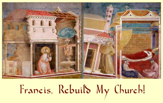 Rebuild my Church