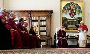 Benedict XVI, Rowan Williams