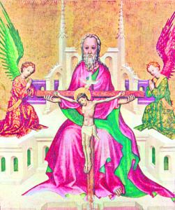 Dreifaltigkeits-Darstellung