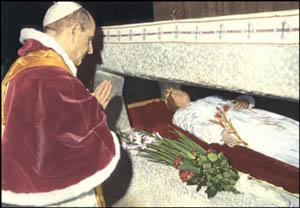 Paul VI. in Nettuno - Maria Goretti