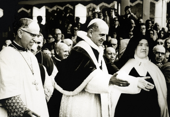 D. João Venâncio, Paulo VI e a Irmã Lúcia