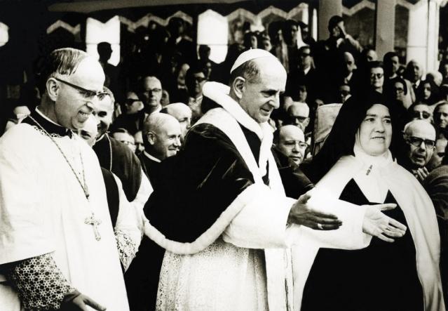 D. João Venâncio, Paulo VI e Irmã Lúcia