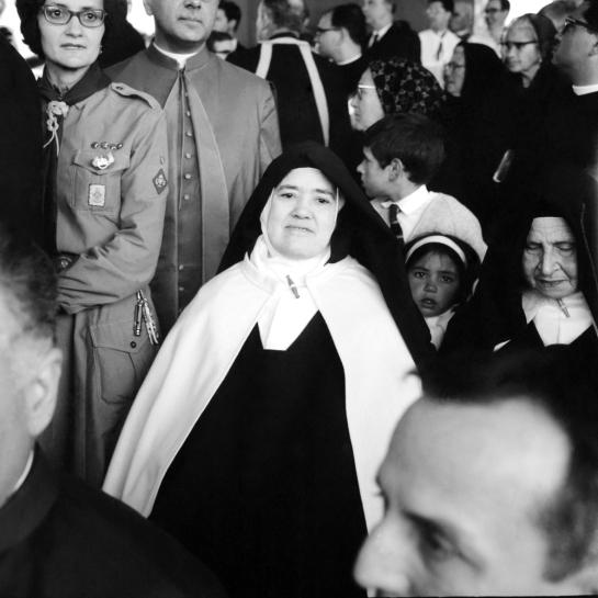 Irmã Lúcia em Fátima 3