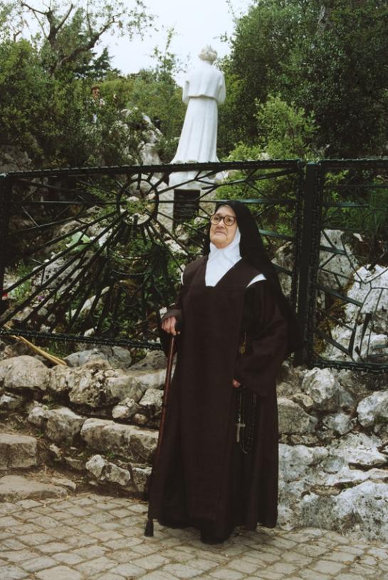 Irmã Lúcia na Loca do Cabeço