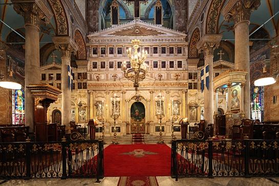 Ikonostase_der_griechisch-orthodoxen_Kathedrale_Evangelismos,_Alexandria,_Ägypten