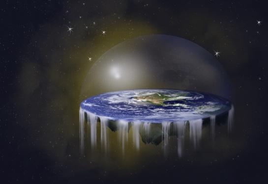 Als-die-Erde-noch-eine-Scheibe-war