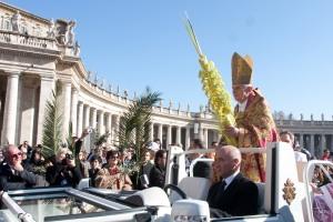 ROMa 28-03-2010 DOMENICA DELLE PALME E DELLA PASSIONE DEL SIGNORE PRESIEDUTA DAL SANTO PADRE BENEDETTO XVI PH:ALESSIO PETRUCCI