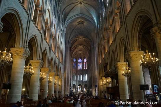 Notre-Dame-Paris-Kirchenschiff