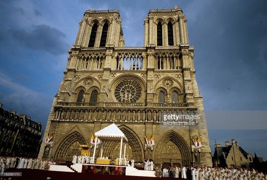 Paris 1980 Notre-Dame