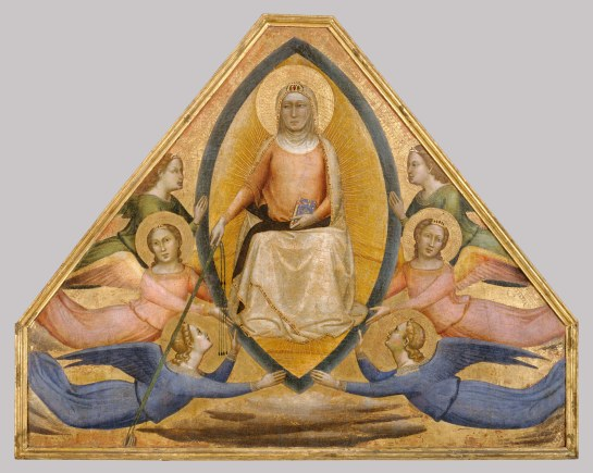Working Title/Artist: The Assumption of the VirginDepartment: Robert Lehman CollnCulture/Period/Location: HB/TOA Date Code: Working Date: 1340 Digital Photo File Name: DT705.TIF Online Publications Edited By Steven Paneccasio for TOAH 3/17/14