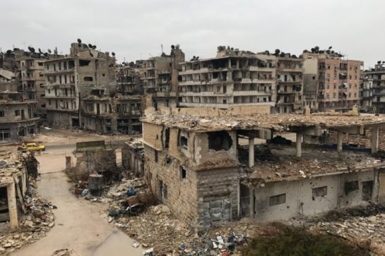 Syria, Aleppo, East Al Midan, 14. December 2016<br /> On Wednesday, a ceasefire agreement entered into force for the fiercely contested Syrian city of Aleppo. However media reports speak of continued fighting and violence directed against the civil population by Pro-Syrian forces.