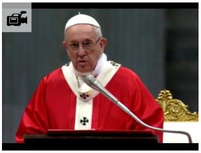 papst franziskus die kraft der vernderung des heiligen geistes - Papst Franziskus Lebenslauf